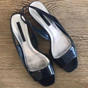 Bandolino Shoes - Navy Dress Sandals
